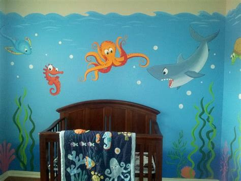 home design sea theme 17 best ideas about ocean mural on pinterest painted