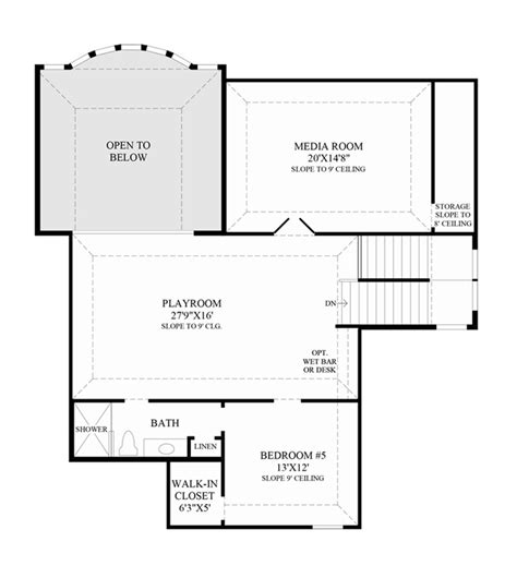 media room floor plans preserve at flower mound the marquette home design