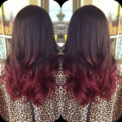 brunette and red hair pictures hombre 30 dark red hair color ideas sultry showstopping styles