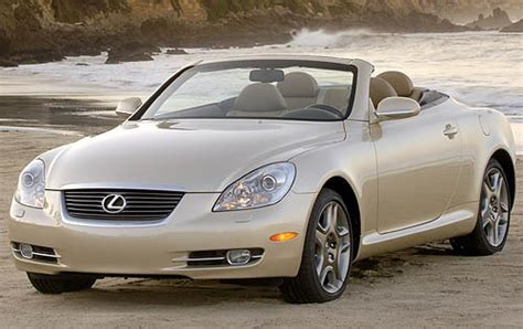 lexus convertible sc430 used 2008 lexus sc 430 for sale pricing features edmunds