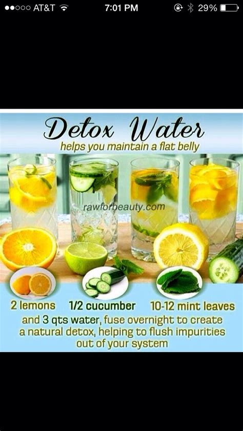 Overnight Detox Drink by Healthy Overnight Detox Drink Musely