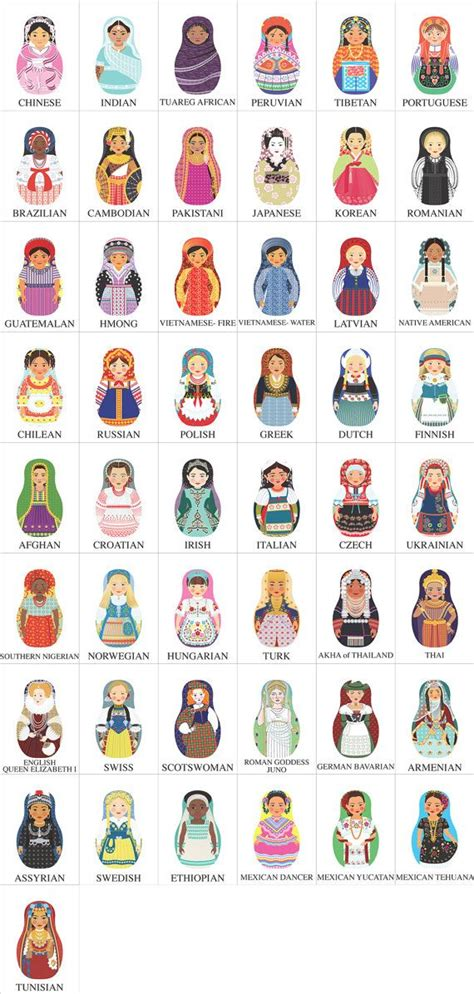 russian doll lesson russian dolls national dress inspiration idea for the
