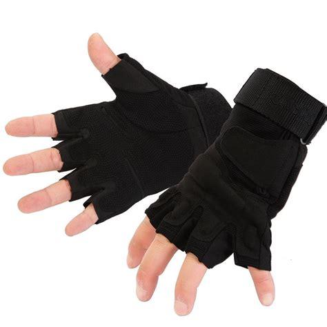 Half Finger Gloves outdoor tactical gloves leather half finger