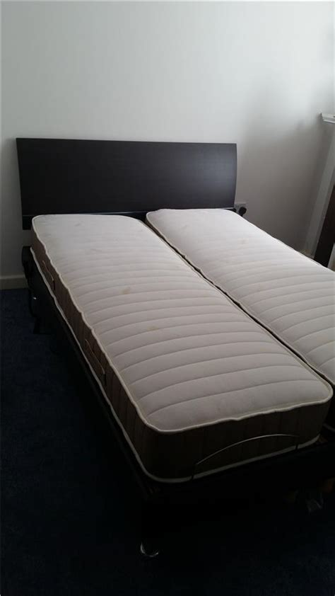 electric adjustable 4ft6 dual non dual wooden bed 5 year warranty ebay