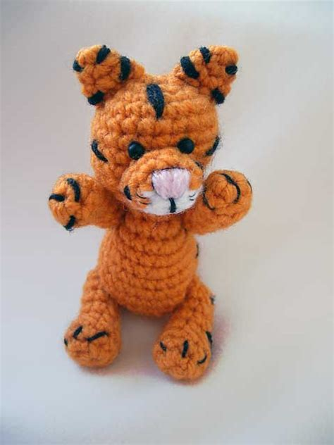 Amigurumi Pattern Tiger | baby tiger free amigurumi pattern