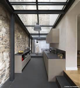 cuisine en longueur with moderne cuisine d 233 coration de