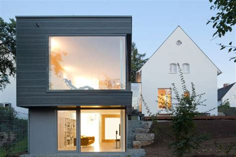 traditional german home acquires a sparkling modern