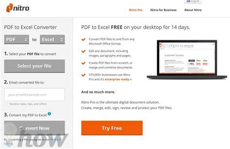 best free pdf to excel best free pdf to excel converter omghowto