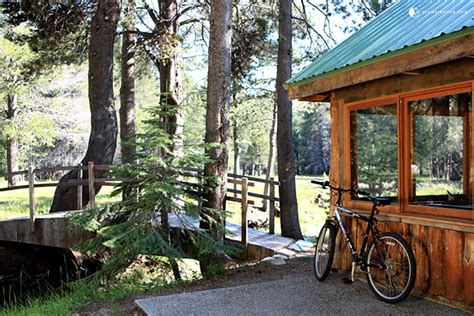 Yosemite Friendly Cabins by Log Cabin Next To Yosemite National Park California