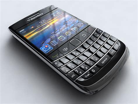 blackberry bold 3 mobile blackberry bold 9700 mobile phone 3d model