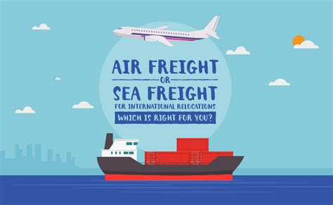 air freight  sea freight  international relocations