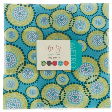 For You Layer Cake   Zen Chic   Moda Fabrics ? Missouri