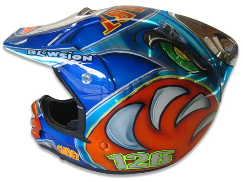 custom motocross helmet painting blowsion blowsion custom painted motocross helmets