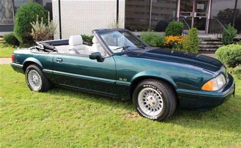 1990 ford mustang 5 0 convertible 1990 ford mustang lx 5 0 7 up edition convertible for sale