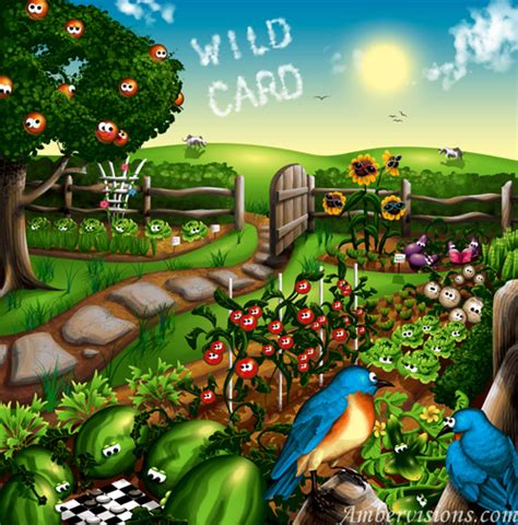 fruit and vegetable garden 30 inspiring fruits and vegetables vector illustrator