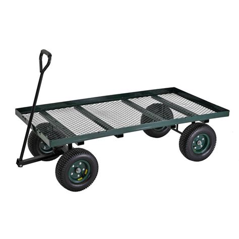 sandusky 7 cu ft 36 in w utility cart fw6036 the home
