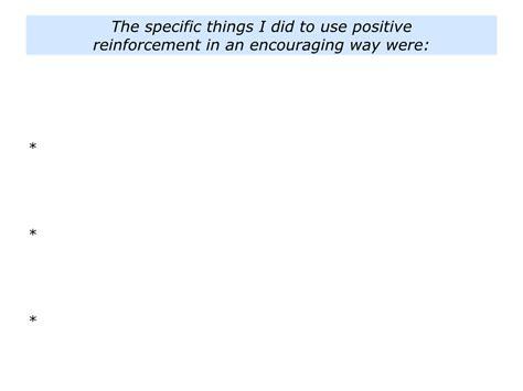positive reinforcement p is for positive reinforcement the positive encourager