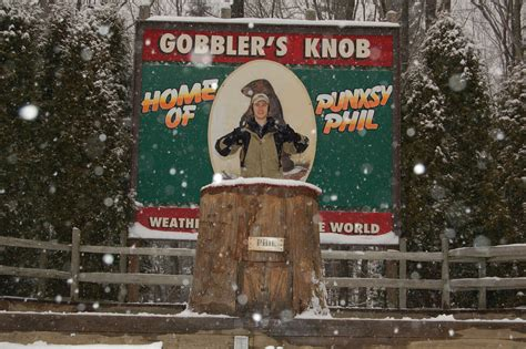 groundhog day gobblers knob gobbler s knob howie frugal travel