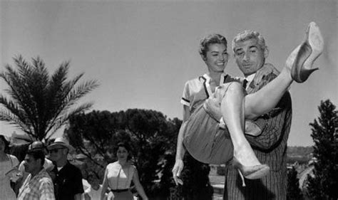 Jeff Chandler Cross Dresser by Esther Williams And Jeff Chandler Sweethearts