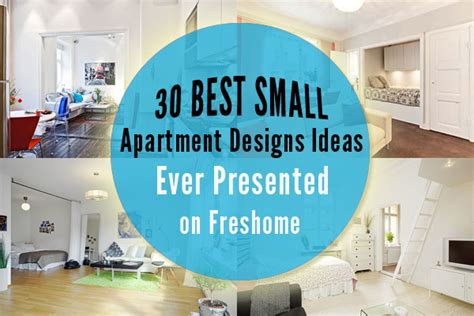 30 Best Small Apartment Design Ideas Ever Freshome | 30 best small apartment designs ideas ever presented on