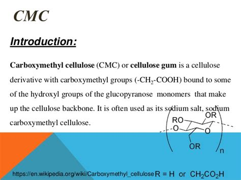 Carboxymethyl Cellulose Cmc 1 carboxyl methyl cellulose
