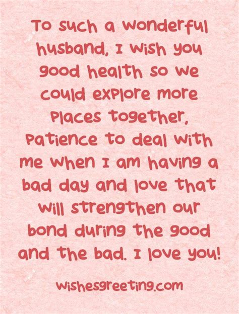 Husband Birthday Quotes From Happy Birthday To My Husband Wishesgreeting Love