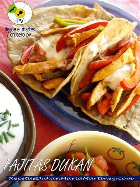 desayunos para la dieta dukan 5 ideas faciles fajitas dukan de pollo con tortillas no con crepes