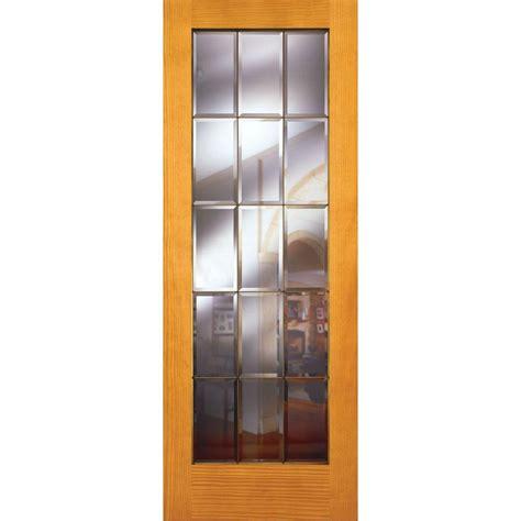 15 Inch Interior Door by Feather River Doors 32 In X 80 In 15 Lite Unfinished