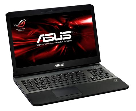 asus laptop asus rog launches the g75vw g55vw gaming laptops rog