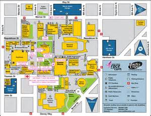Seattle Center Map by Upcoming Events Seattle Monorail Blog