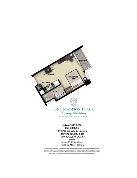 one madison floor plans one madison place photos megaworld corporation