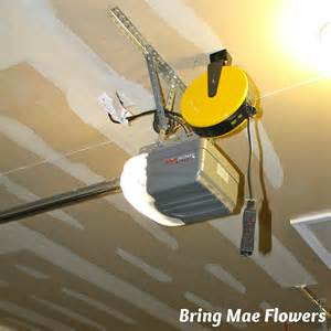 Garage Door Opener Extension Cord Overhead Extension Cord Pulley For Garage Ceiling Outlet