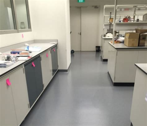 armstrong vinyl flooring at lab