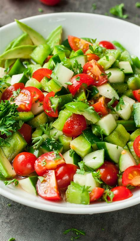 cucumber recipe celery and tomato salad recipes