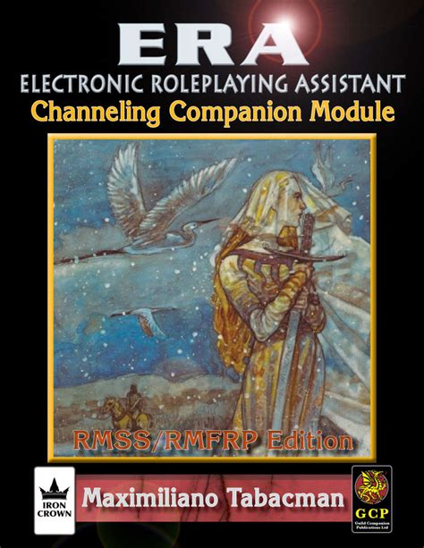 Rolemaster Companion 3 era for rolemaster rmssfrp channeling companion iron