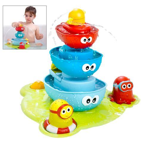 spray bathtub yookidoo 174 stack n spray tub fountain the animal rescue site
