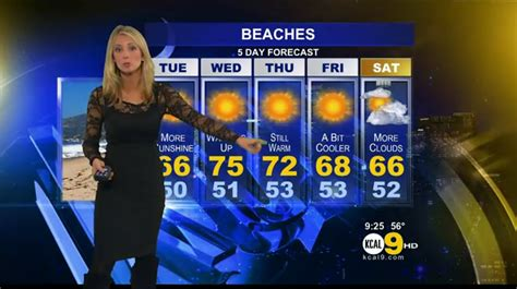 short haired blonde lady on weather channel the appreciation of booted news women blog evelyn taft
