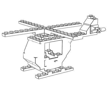 lego helicopter coloring pages pov ray newsgroups povray binaries images lego