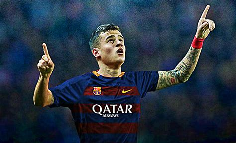 Barcelona Coutinho | coutinho ideal fit for barcelona says brazil coach tite