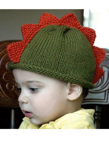 Dinosaur Hat Knitting Pattern