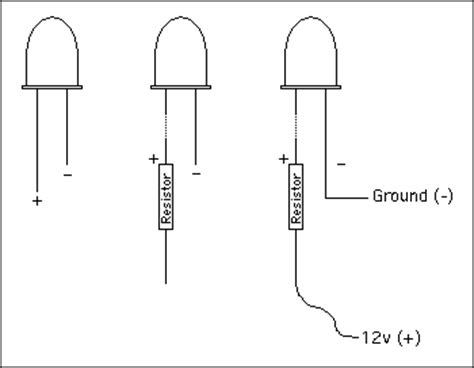 what resistor to use with led 12v kittdell 12v led