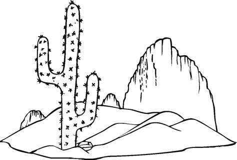 cactus template free printable cactus coloring pages for