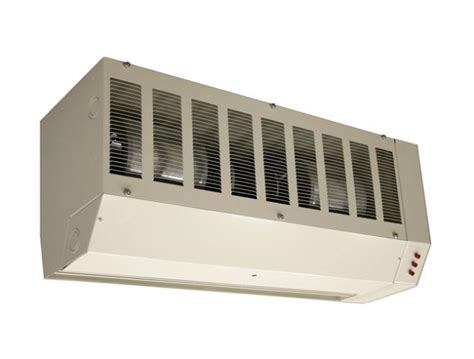 heated air curtain environmental electric heated air curtain marley