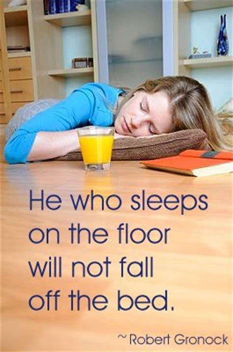 How To Sleep On The Floor by The Startup Spouse On Risks Trade Offs And Never