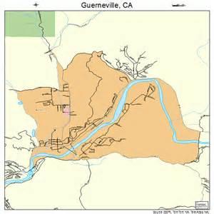 guerneville california map 0631470