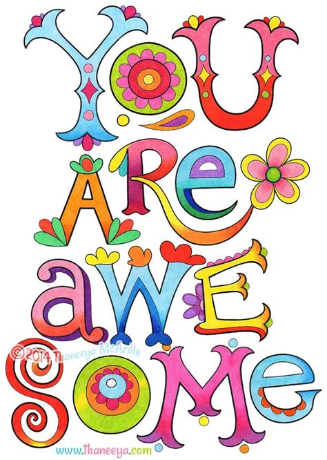 you are awesome clipart you are awesome coloring page from thaneeya mcardle s