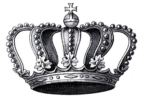 17 best ideas about crown on crown transfer printable vintage crown with cross the