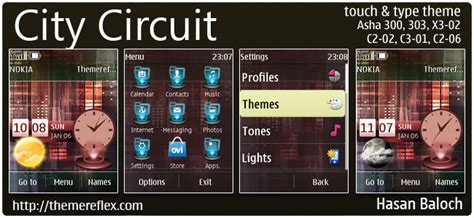 themes reflex nokia c2 02 city circuit live theme for nokia asha 300 303 x3 02 c2