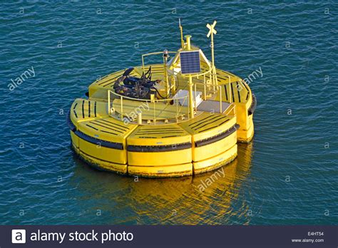 boat mooring floats floatex floating buoy anchored to sea bed used for