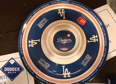 Dodger Game Giveaways 2017 - 2017 chips and salsa dish dodgerblue com